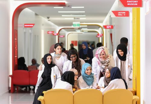 Gulf Medical University Students Ready to Return to Campus in September Due to the Safe and Secure Post COVID Learning Environment in UAE