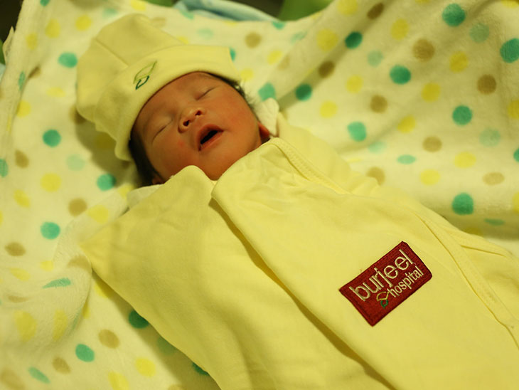 Burjeel Hospital Abu Dhabi Welcomes First  Eid Al Adha Baby