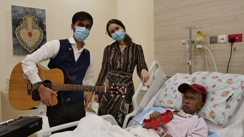 Music to Enhance Quality of Life and Healing Process of Long-Term Care Patients at Thumbay University Hospital