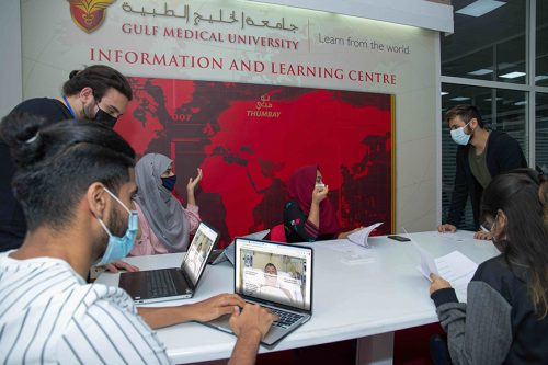 Innovations in AI & Students Assessments Wins Two Education Oscars for Gulf Medical University at QS Reimagine Awards 2020