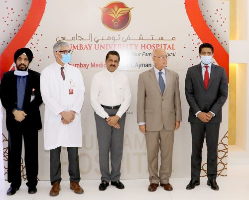 Thumbay University Hospital – Ajman, the Largest Private academic hospital established by Thumbay Group under its healthcare division, celebrated its 1st Anniversary